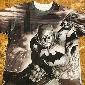 Cool Batman Black & White Graphic T Shirt